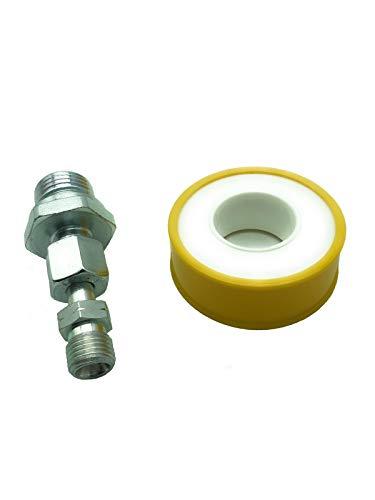 Herdanschluss-Adapter-Set, Variante:AG Gerade 1/2\'\' RH x AG 1/4 LH