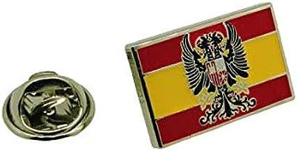 Pin de Solapa Bandera España Aguila Imperial 20x12mm: Amazon.es: Hogar