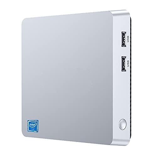 Mini PC, Intel Atom Z8350 8GB RAM/128GB ROM Mini Ordenador, Windows 10 Pro Support 4K HD, HDMI+VGA, 2.4G/5G WiFi, Bluetooth, Gigabit Ethernet Mini Desktop Computer