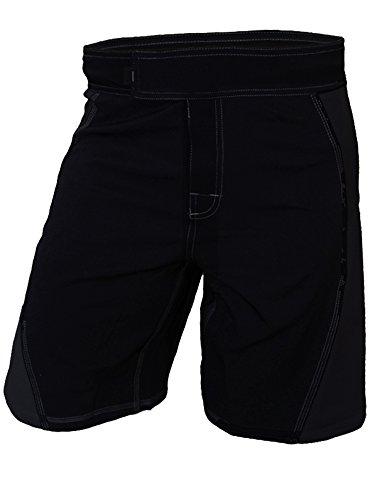 Epic MMA Gear WOD Shorts Agility 2.0 (Black/Black, 32)