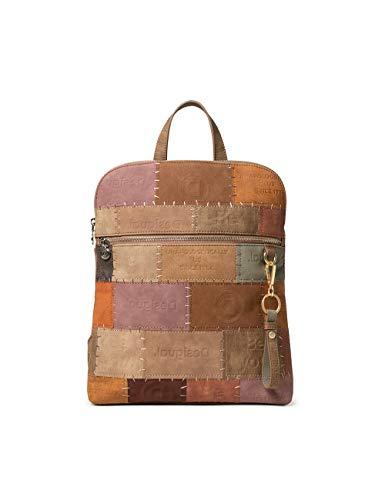 Desigual Womens Accessories PU MEDIUM Backpack, Brown, U