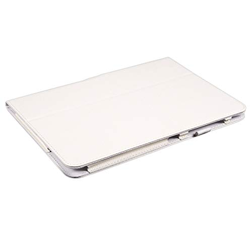 Wivarra PU Leather Case Cover For Galaxy Tab 3 10.1 P5200 P5210 P5220 Tablet Colour:White