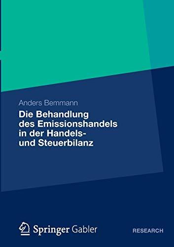 Die Behandlung des Emissionshandels in der Handels- und Steuerbilanz: Eine Analyse der IDW- und BMF-Methoden Sowie die Entwicklung eines . . . ... erworbenen Emissionsberechtigungen