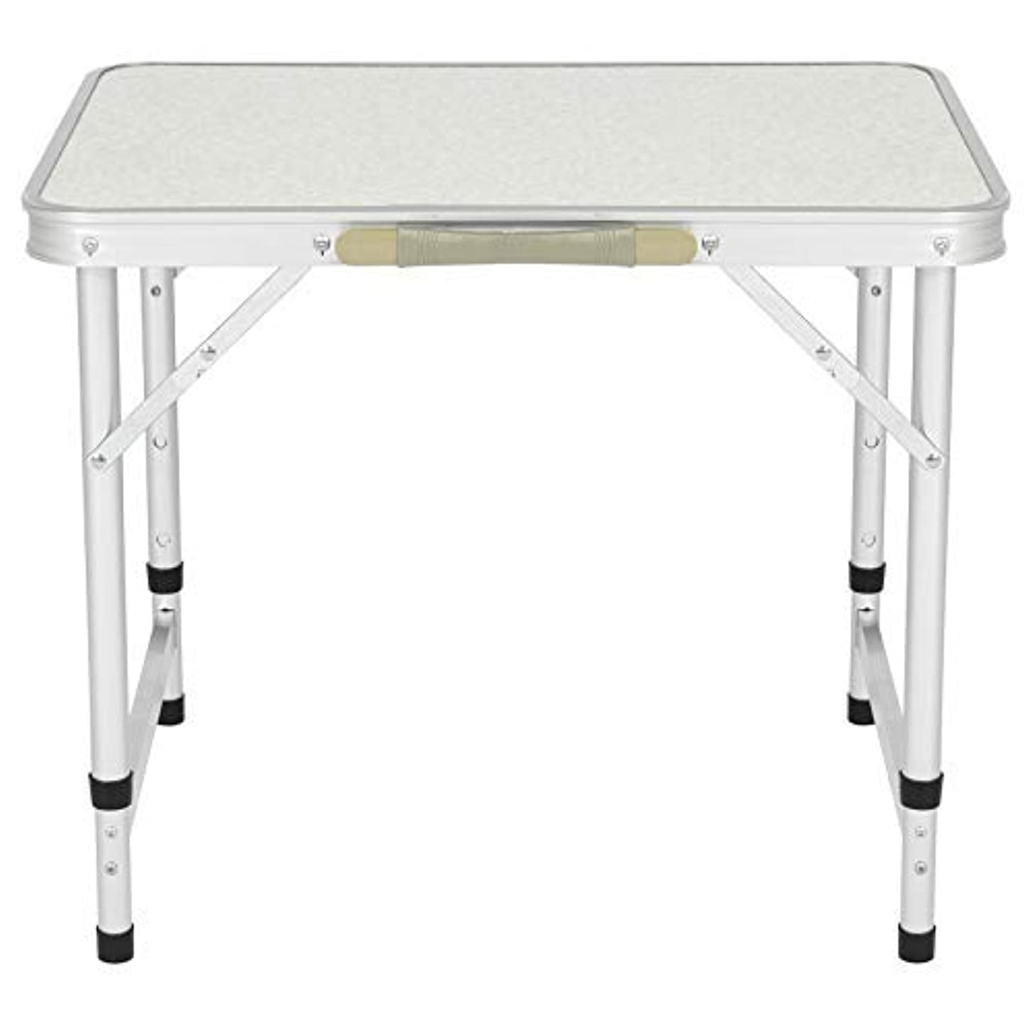 Best Choice Products Aluminum Camping Picnic Folding Table Portable Outdoor, 23.5