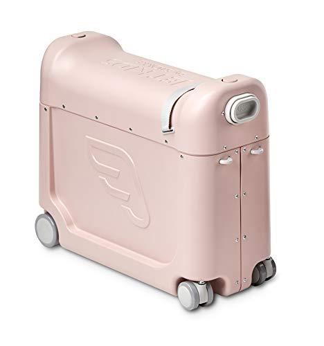 JetKids™ by STOKKE® BedBox - Kinderkoffer mit Bettfunktion - Handgepäck zum Sitzen und Rollen - Farbe: Pink Lemonade