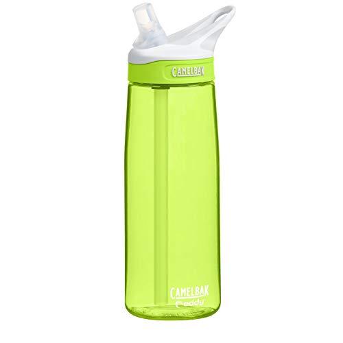 Camelbak Eddy Wasser Trink Flasche Grün 750 ml Sport Outdoor BPA frei Tropfsicher Limeade, 1271302075