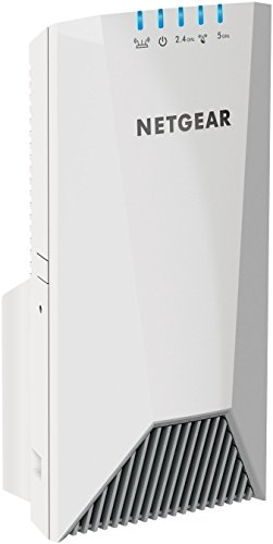 NETGEAR Nighthawk Mesh X4S Wall-Plug Tri-Band WiFi Mesh Extender - White (Renewed)