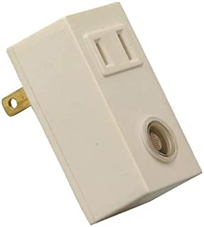 Woods 59407 (White) 59407WD Indoor Light Control Sensor With Photocell 120-Volt