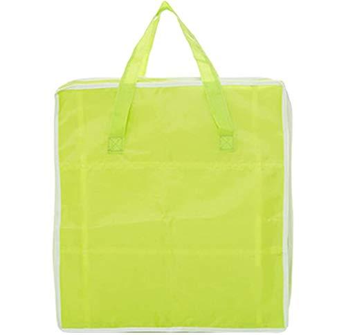 HJQL Zapato Impermeable,Bolsas De Maleta De Cubo Organizador,Caja De Almacenamiento De Zapatos Verde