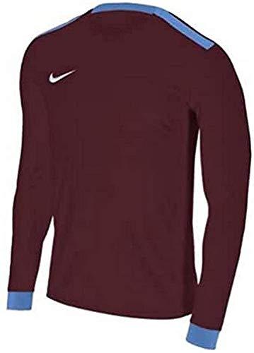 NIKE Men's Dry Park Derby II Football Camiseta de Manga Larga, Hombre, Black/Volt/Volt/(White), S