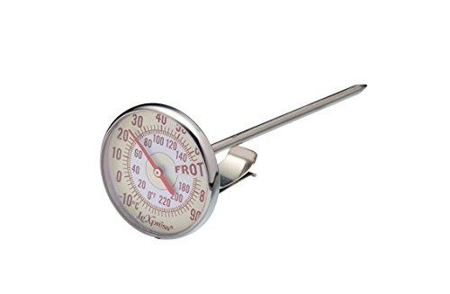 KitchenCraft KCLXMILKTHERM Termometro in Metallo