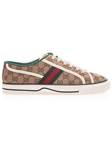 Gucci Luxury Fashion Uomo 606111HVK209766 Beige Sneakers | Primavera Estate 20