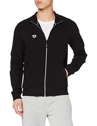 ARENA Herren Sport Jacke mit Reißverschluss Sportjacke, Black, L