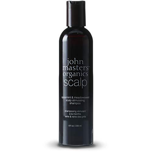 john masters organics Scalp Stimulating Shampoo mit Spearmint & Meadowsweet, 1er Pack (1 x 236 ml)