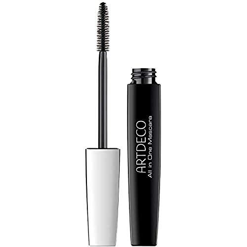 ARTDECO All In One Mascara – Schwarze long-lasting Wimperntusche – Für Volumen, Länge und Schwung der Wimpern – 1 x 10 ml
