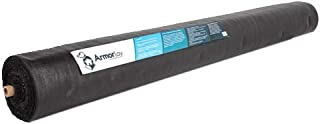 ArmorLay Commercial Grade Driveway Fabric, Stabilization, Underlayment (Black, 6'x300')