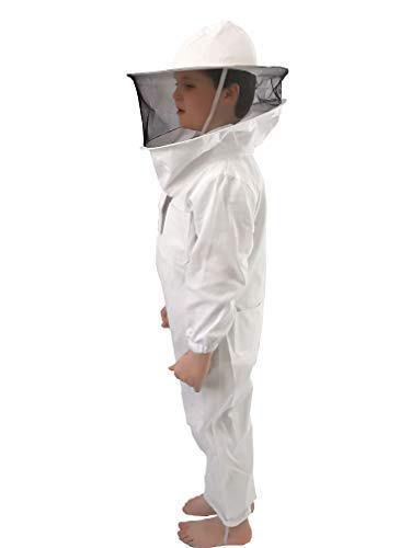 Honey Lake Full Body Ventilated Beekeeping Suits for Kids,Beekeeping Suit with Self Supporting...
