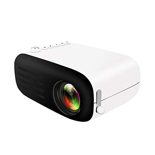 Support HD PROYECTOR Mini Micro PROYECTOR HD 1080 Portátil Full HD 1080P Compatible con USB HD SD AV VGA para el Cine en casa with Projection Function (Color : Black, Size : 135 * 100 * 60mm)