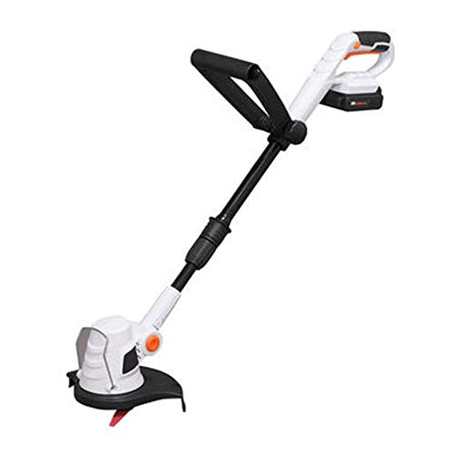 Find Bargain Cordless Grass Trimmer-with 18v Battery, Charger & 10 X Nylon Blades – 23cm Cutting P...