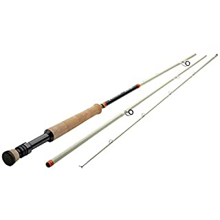 """Redington Butter Stick Fly Rod (476-3) - 4 Weight, 7'6"""" Fly Fishing Rod (B07FYFRYWS) 