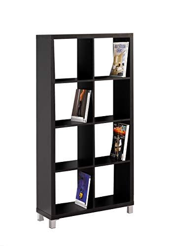Kit Closet Estantería 'Kubox' 8 huecos negro