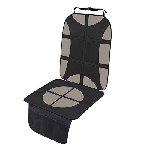 Protector de Asiento de Coche Actualizado Funda de Asiento de Coche para Niños Universal Compatible con Isofix Protege la tapicería Impermeable Antideslizante (Beige 1Pcs)