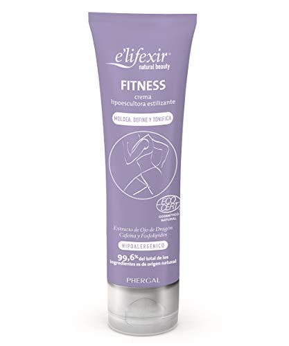 E'lifexir Natural Beauty Fitness Crème liposculptrice tonifiante éco. 150 ml.
