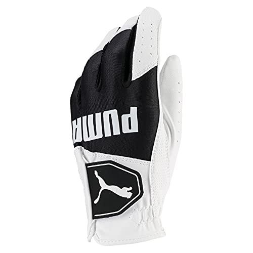 Puma Golf 2018 Kid's Golf Glove (Bright White-Puma Black, Medium)