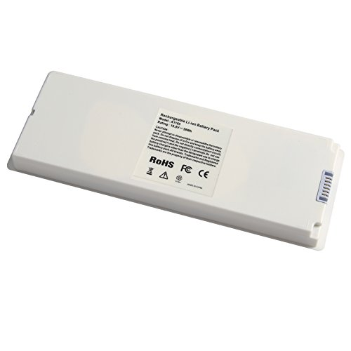 ARyee 59Wh 10.8V A1185 Battery Laptop Battery Replacement for Apple A1185 A1181 MA561 MA561FE/A MA561G/A MA561J/A
