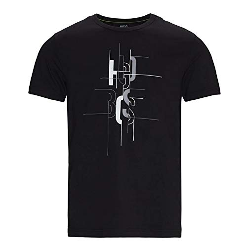 BOSS Hugo Tee 2 Graphic Logo Camiseta Negro 50431815