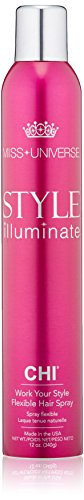 CHI Miss Universe Work Your Style Flexible Hairspray 340gr - Laque tenue naturelle
