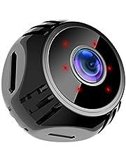 Mini Spy Camera WiFi Kleine Draadloze Babyfoon Home Security Surveillance Nanny Cam met Live Send Mobiele Telefoon Nachtzicht Beweging Geactiveerd Real Time Indoor Video Recorder