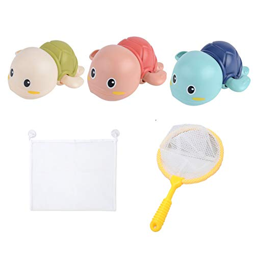 Coriver Clockwork Turtle - Juguetes de baño para bebé, Juegos de Juguetes...