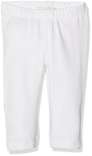 Name IT NOS Mädchen Leggings NITVIVIAN Capri NMT NOOS, Weiß (Bright White), 164