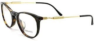 Versace VE3227A - 108 Eyeglass Frame DARK HAVANA w/Clear Demo Lens 51mm