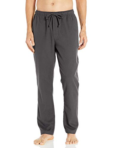 Amazon Brand - Goodthreads Men's Flannel Pajama Pant, Charcoal, Medium
