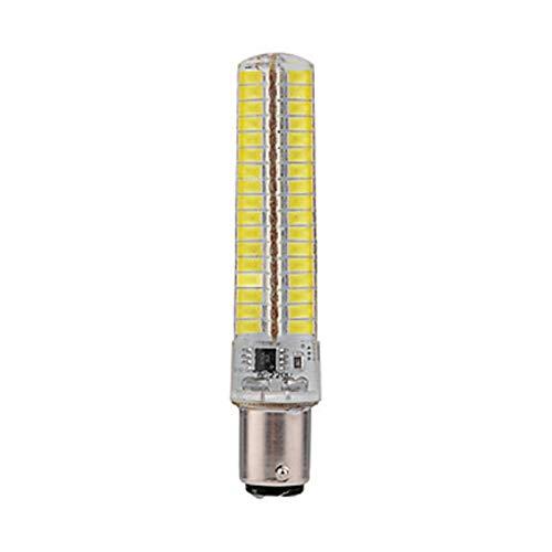 WELSUN Ampoule LED Ba15d 6W LED 136 x SMD 5730 LEDs 400-450 Lumens Blanc Froid 6000K - Lampe halogène équivalente de Lampe de maïs d'équivalent de 40W Ba15d LED pour des Lampes AC220V 1Pcs