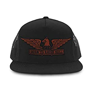 Born to Raise Hell Trucker Black