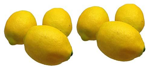 GMMH Deko Zitronen 6 Stück