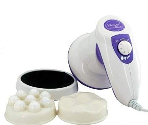 Diximo enterprise Powerful Whole Body Manipol Massager to Reduce Weight and Fat (White)