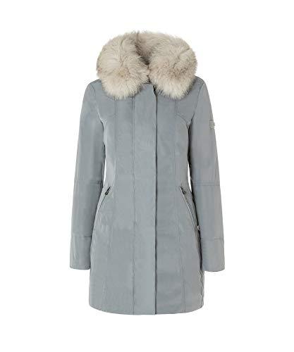 Peuterey Metropolitan GB Fur Damen-Jacke, Grau 38