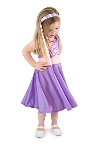 Little Adventures Rapunzel Princess Twirl Dress (Medium Size 6)