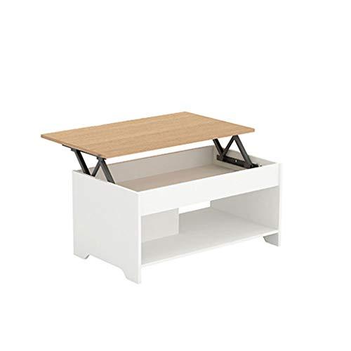 LSX - salontafel salontafel - salontafel optillen eenvoudige woonkamer mini inklapbare multifunctionele salontafel eettafel afneembare salontafel met dubbele gebruik bijzettafel