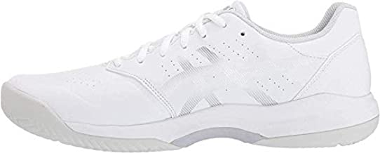 ASICS Men's Gel-Game 7 Tennis Shoes, 11, White/Silver