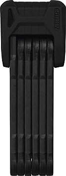 Abus 6500/110 BK SH Antivol pliable pour vélo Mixte Adulte, Noir, 110 cm