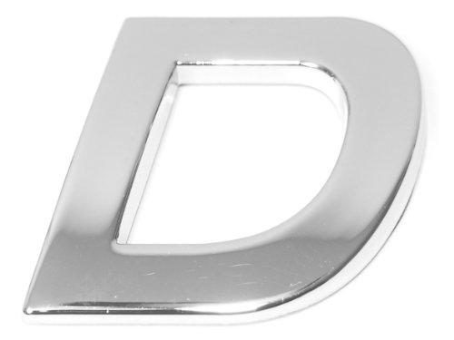 Eufab 30314 3d-letter D Car-logo