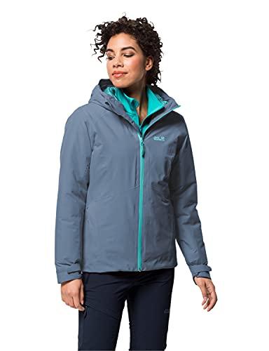 Jack Wolfskin Damen Argon Storm Jacket W Jacke, Frost Blue, Large