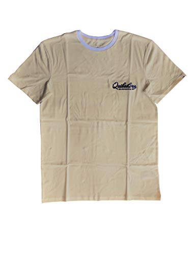 Quiksilver Finest of The First tee - Camiseta de Hombre - White - Talla M