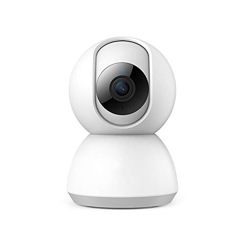 Regen stad Smart Home Security Camera met 2 Weg Audio Bewegingsdetectie Nachtzicht Wifi 1080P Baby Huisdieren Surveillance Camera voor Indoor Room Appartement