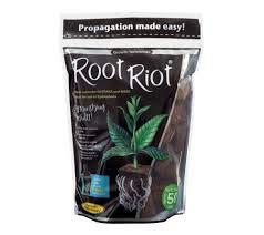 City Hydroponics Growth Technology GT Root Riot Tasche, 100 Stück